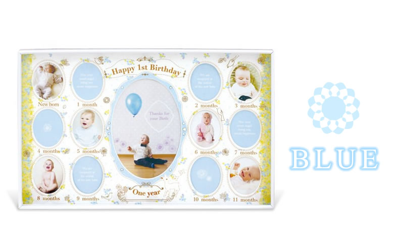 【誕生日・出産祝い】ANNA BABY FRAME~アンナベビーフレーム~フォトスタンド/写真立て